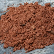 Bulgarian red clay for plastering