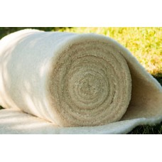 Heat insulation of sheep wool